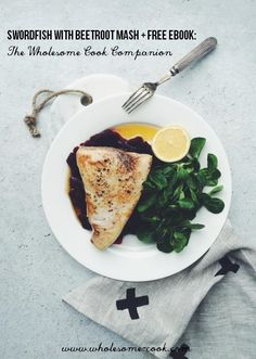 Swordfish steak with