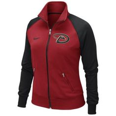 MLB Arizona Diamondbacks Antigua Tempest Full-Zip Jacket - Black ...