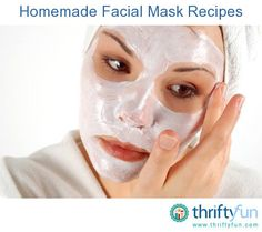 This is a guide for making homemade facial masks. Face masks are a common part of a beauty regimen and can easily be made at home from natural products. Common ingredients can include avocado, honey, essential oils, yogurt and more.