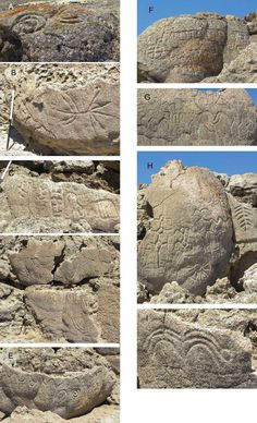 Researchers Discover the Oldest Petroglyphs in North America Nahaufnahmen der Winnemucca Lake Petroglyphen Ancient Mysteries, Ancient Ruins, Ancient Artifacts, Ancient History, Indian Artifacts, European History, Ancient Greece, Ancient Egypt, American History