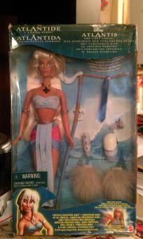 Disney Atlantis Kida Doll! I remember this doll! :)