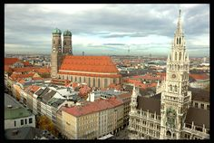 Munich, Germany. Lived here for a year, and it will be part of my heart and soul forever.