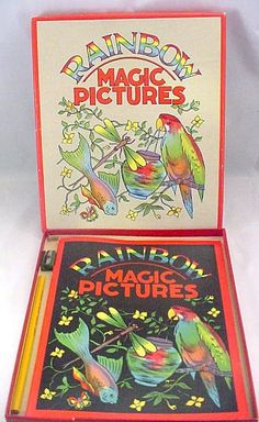"1938 Sam'l Gabriel ""Rainbow Magic Pictures"" Activity Set"