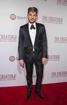 02/14/16 Adam Lambert attends The Creators Party Presented By Spotify at Cicada (Katy Perry's pre-Grammys party)
