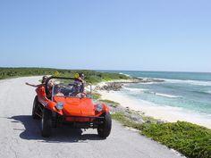 Beach Buggy & Snorkel at Punta Sur  Cozumel, Mexico