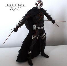 Teen Titans - Red X Version 2 (Teen Titans) Custom Action Figure