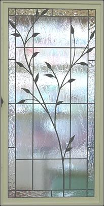 branch and leaves stained glass - Design Gallery Leaded Glass Windows, Stained Glass Door, Stained Glass Flowers, Stained Glass Designs, Stained Glass Panels, Stained Glass Projects, Stained Glass Patterns, Beveled Glass, Mosaic Glass