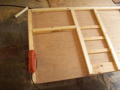 Tutorial   Building An RV Kitchen Cabinet For A Stove, Ice Box And Storage.  This Is Simple Construction And Can Be Built With Cordless Drill, Skill  Saw, ...