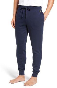 POLO RALPH LAUREN Brushed Jersey Cotton Blend Jogger Pants. #poloralphlauren #cloth #