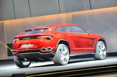 Brown Lamborghini Urus