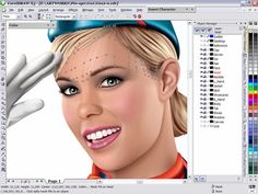 How to Master the Mesh Fill Tool or Create Flight Attendant in Pin-up Style with CorelDraw - Illustrator Tutorial - Vectorboom