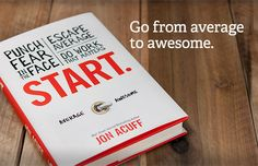 For those looking to chase their dreams and escape average. This book will change your life. http://www.amazon.com/Start-Punch-Escape-Average-Matters/dp/1937077594/ref=sr_1_1?s=books=UTF8=1368205144=1-1=start+jon+acuff