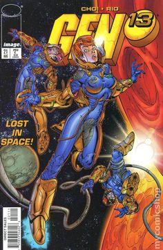 Gen 13 - Lost in Space! Dc Comics, Image Comics, Comic Book Artists, Comic Artist, Comic Books Art, Scott Campbell, Jim Lee, Cyberpunk, Image Hero