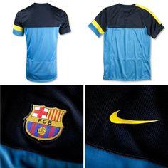 Camiseta de Entrenamiento Azul 2012-2013  bp02  - €15.50   f89f1966a3420