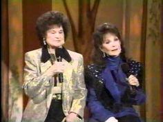 "Kitty Well, Loretta Lynn sings -"" Searching"",  on Loretta Lynn & Friends"