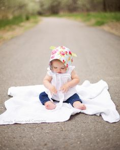 Baby Bonnet Tutorial - Simple Simon and Company