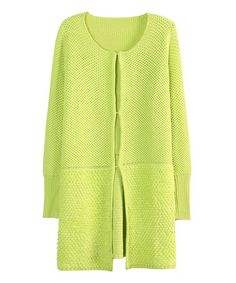 Loving this Green Cardigan - Women on #zulily! #zulilyfinds