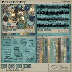 One For The Boys Bundled Collection By Designs by Laura Burger