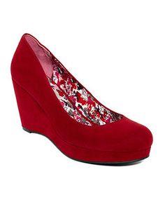 American Rag Shoes, Kenna Platform Wedge Pumps - American Rag - Shoes - Macy's  nice to dream.