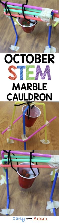 October STEM: Design a Cauldron Holder