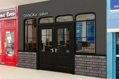 "Propose front shop design  ""Dangke salon at Darmawangsa City Walk Jakarta"""