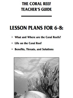 Lesson plans about the Great Barrier Reef