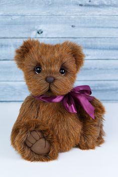 Teddy bear OOAK by Marina Kachan