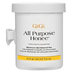 GiGi All Purpose Honee Wax Microwave Formula 8 oz #0365 $9.95  Visit www.BarberSalon.com One stop shopping for Professional Barber Supplies, Salon Supplies, Hair & Wigs, Professional Product. GUARANTEE LOW PRICES!!! #barbersupply #barbersupplies #salonsupply #salonsupplies #beautysupply #beautysupplies #barber #salon #hair #wig #deals #sales #GiGi #allpurposehonee #0365
