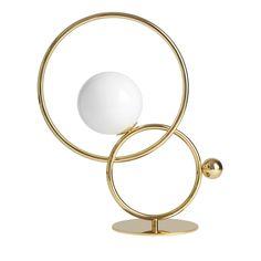 Zoe Gold Table Lamp  - Shop VeniceM online at Artemest