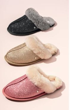 04f6092b686f A comfy slipper is trimmed with shearling and lined with UGGpure™