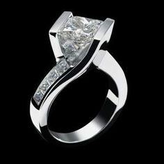 Contemporary Wedding Rings for Women | Diamond engagement rings for women Harry Winston Design - Diamond ...