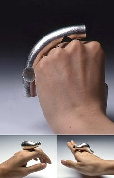 TheCarrotbox.com modern jewellery blog : obsessed with rings // feed your fingers!: Mizuko Yamada /