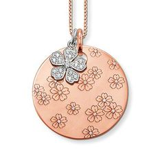 CHIC 18k rose gold necklace Pendant charm JEWELRY -- Check this awesome product by going to the link at the image. (This is an affiliate link) #Necklaces