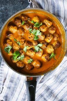 Easy Tikka Masala Meatballs – The Defined Dish (whole30 friendly!)