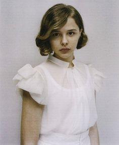 Chloe Grace in W Magazine. gorgeous!!