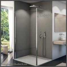 Paravan dus Fun din sticla securizata anticalcar 133 x 200 cm, Bathtub, Mirror, Bathroom, Modern, Cabin, Standing Bath, Washroom, Bathtubs, Trendy Tree