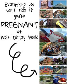 Off limits attractions: the rides you can't ride if you're pregnant at Walt Disney World