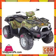 meet 783ea d0d2b Buy Bass Pro Power Wheels Kawasaki Brute Force Kids ATV at Best Price in  Pakistan