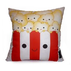 popcorn pillow, I can put this next to my music note pillow and my room will be complete :)