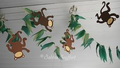 Affe 5 Jungle Party, Jungle Theme, Safari, Kindergarten, Tropical, Baby Shower, School, Decor, Blog
