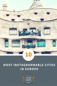 The 10 Most Instagrammable Cities in Europe | plus some of our favorite Instagrammers across the continent… #travel #photograph #instagram #wanderlust #europe
