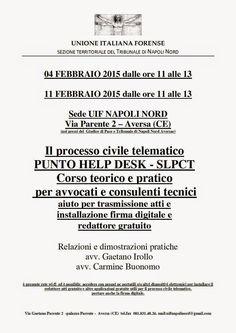 Studio Legale Buonomo (Napoli / Caserta): Simulazioni pratiche PCT - calendario eventi mese ...