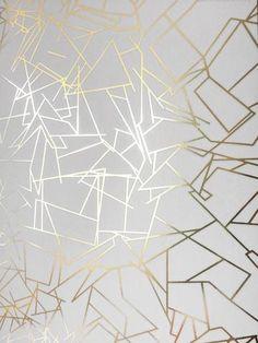 33 Ideas For White Wallpaper Living Room Wallpapers White Pattern Wallpaper, White And Gold Wallpaper, Metallic Wallpaper, Geometric Wallpaper, Textured Wallpaper, Textured Walls, Dining Room Wallpaper, Wallpaper Decor, Modern Wallpaper