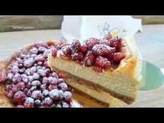 Cheesecake ricotta e mascarpone con fragoline - YouTube Cheesecake, Ricotta, Desserts, Cakes, Food, Youtube, Mascarpone, Tailgate Desserts, Deserts
