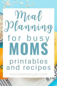 Meal Planning Binder and Beginners Guide for Busy Moms With Picky Eaters Meal Planning Binder, Menu Planning Printable, Family Meal Planner, Meal Planning Board, Budget Meal Planning, Meal Planing, Printables, Healthy Weekly Meal Plan, Low Carb Meal Plan