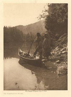 "P04563, ""On Clayoquot Sound,"" Edward Curtis, 1915, Nootka Indians"