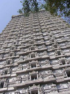 Murudeswar Temple Tower, Karnataka, India.