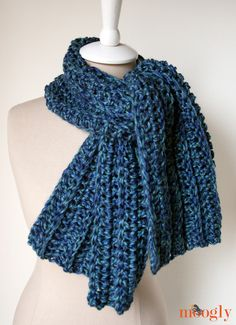Big Rib Scarf - Media - Crochet Me