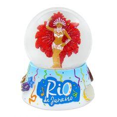 Globo de neve sambista - Rio | Brazilian Wave  Novo modelo . 65mm Valor (Price) : R$37,90 ( aprox. US$12)