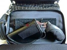 #144 NEW Black Gun Tote'n Mamas Concealment Purse [GTM-33 Bk 144 Dowel] - $119.00 : WeaponWearConcealment.com